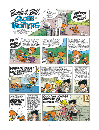 Page 3 boule et bill tome 22 - globe-trotters