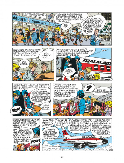 Page 6 boule et bill tome 22 - globe-trotters