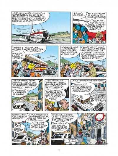 Page 7 boule et bill tome 22 - globe-trotters