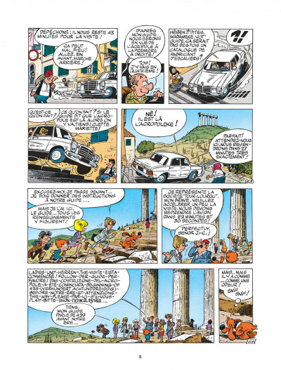 Page 8 boule et bill tome 22 - globe-trotters