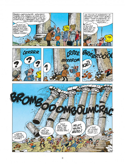 Page 9 boule et bill tome 22 - globe-trotters