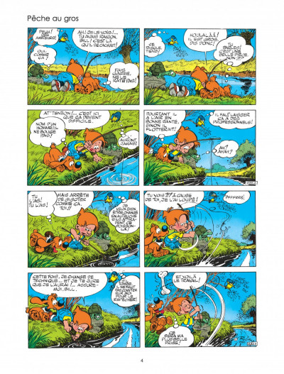 Page 4 boule et bill tome 24 - billets de bill