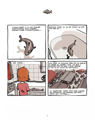 Page 6 marzi - intégrale tome 1 - la pologne vue par les yeux d'une enfant