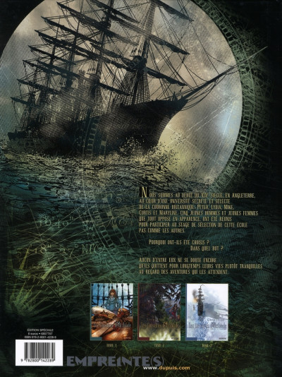 Dos les corsaires d'alcibiade tome 1 - élites secrètes