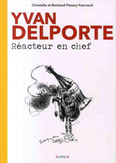image de biographie d'yvan delporte ; réacteur en chef