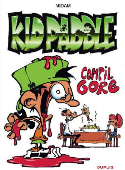 Couverture Kid Paddle - compil gore