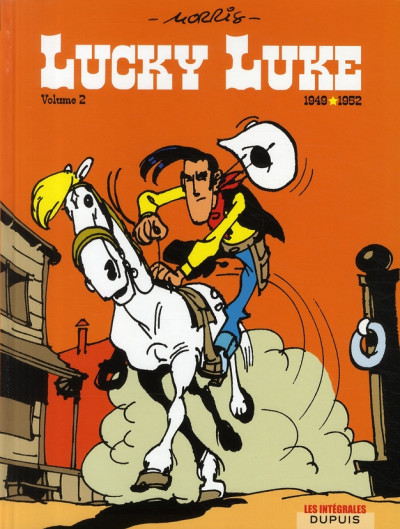 Couverture lucky luke - intégrale tome 2