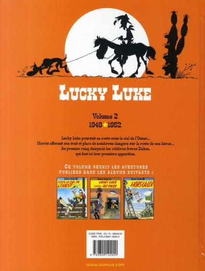 Dos lucky luke - intégrale tome 2