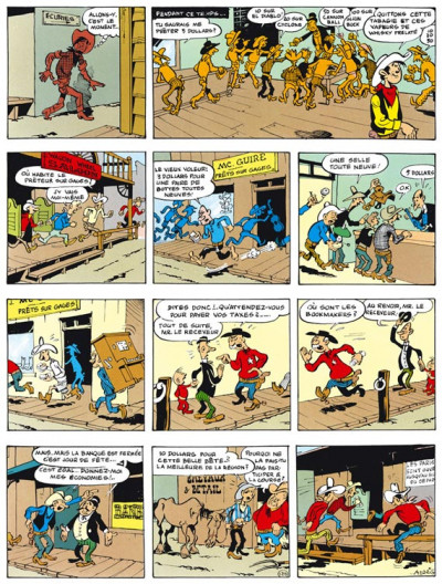 Page 2 lucky luke - intégrale tome 2