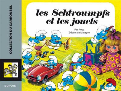 Couverture schtroumpfs carrousel tome 3 - les schtroumpfs et les jouets
