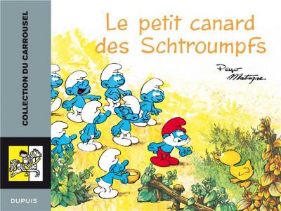 image de schtroumpfs carrousel tome 1; le petit canard des schtroumpfs