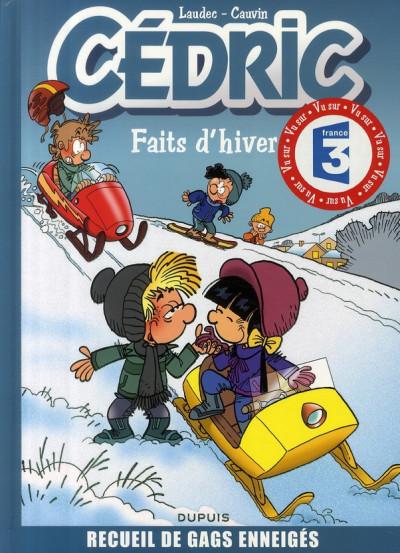 Couverture cédric - best of tome 1 - faits d'hiver