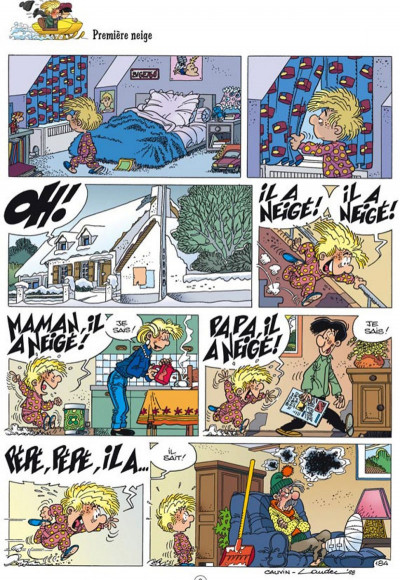 Page 1 cédric - best of tome 1 - faits d'hiver