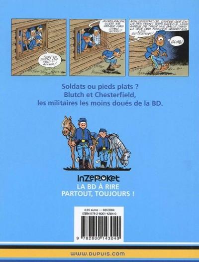 Dos Les tuniques bleues tome 6 - la prison de Robertsonville (mini BD)