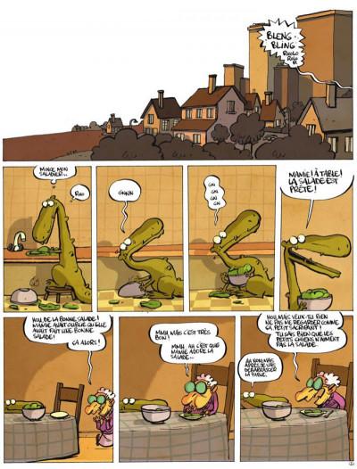 Page 3 jacques, le petit lézard géant tome 2 - jacques a plein d'amis