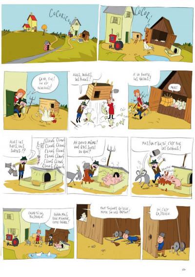 Page 1 panique au village tome 1 - le vol du tracteur