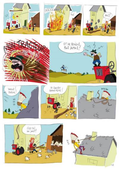 Page 3 panique au village tome 1 - le vol du tracteur