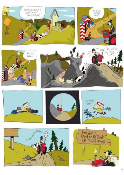 Page 5 panique au village tome 1 - le vol du tracteur
