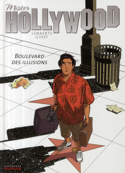 Couverture mister hollywood tome 1 - boulevard des illusions