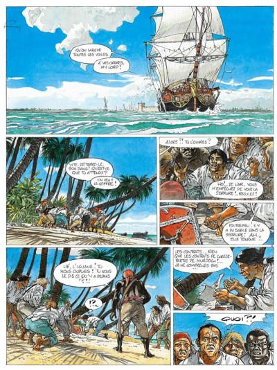 Page 2 le diable des sept mers tome 2