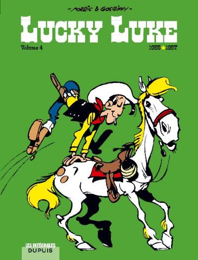 image de lucky luke - intégrale tome 4