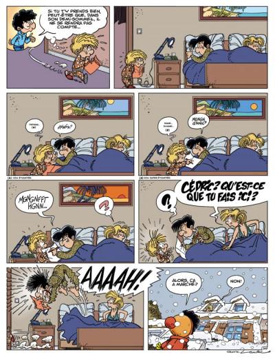 Page 2 cédric tome 23 - je veux l'épouser !