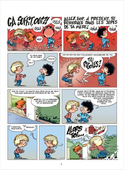Page 6 cédric tome 23 - je veux l'épouser !