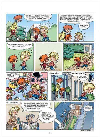 Page 7 cédric tome 23 - je veux l'épouser !