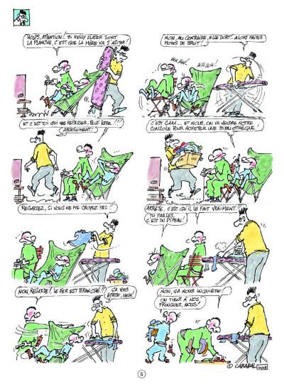 Page 3 les gosses tome 15 - ça pousse gravel