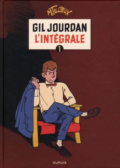 Couverture gil jourdan - intégrale tome 1
