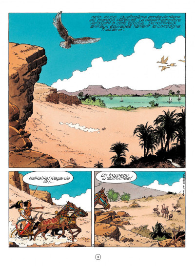Page 1 papyrus tome 31 - l'or de pharaon