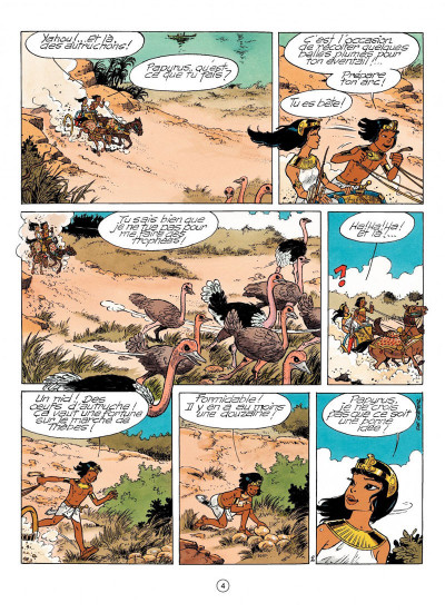 Page 2 papyrus tome 31 - l'or de pharaon