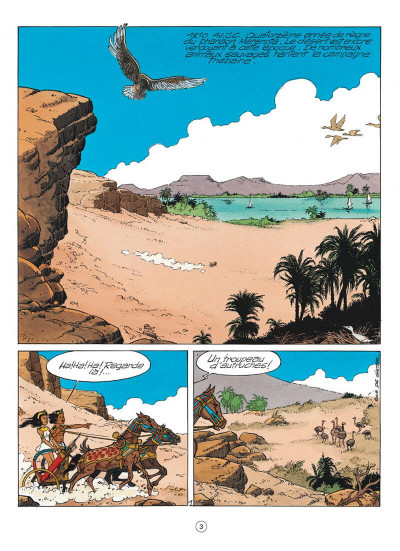 Page 3 papyrus tome 31 - l'or de pharaon