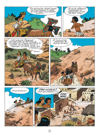 Page 6 papyrus tome 31 - l'or de pharaon