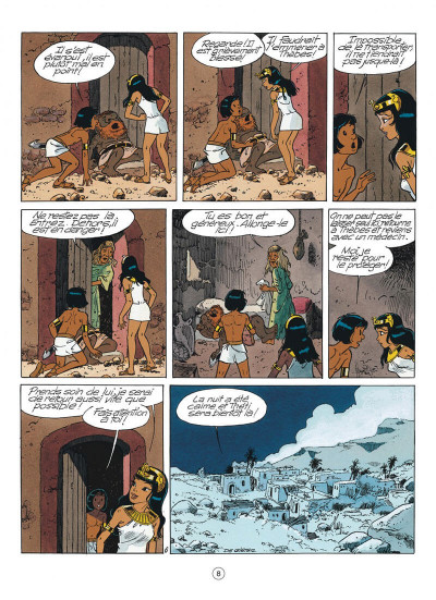 Page 8 papyrus tome 31 - l'or de pharaon