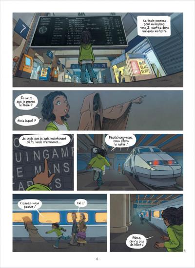 Page 6 les enfants d'ailleurs tome 4 - l'appel