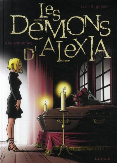 Couverture les démons d'alexia tome 6 - les larmes de sang