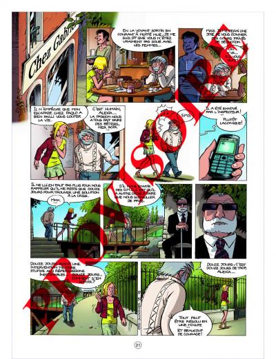 Page 1 les démons d'alexia tome 6 - les larmes de sang