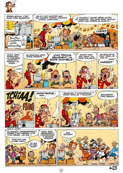 Page 3 le petit spirou - présente tome 2 - mon super grand papy