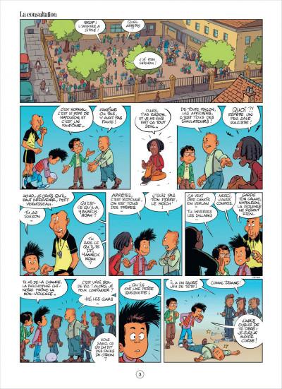 Page 3 mon pépé est un fantôme tome 2