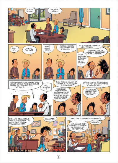 Page 6 mon pépé est un fantôme tome 2