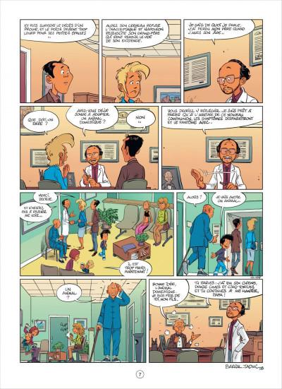 Page 7 mon pépé est un fantôme tome 2