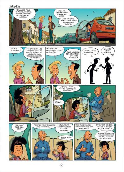 Page 8 mon pépé est un fantôme tome 2