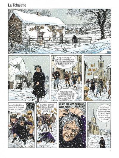 Page 7 servais - intégrale tome 6 - la tchalette