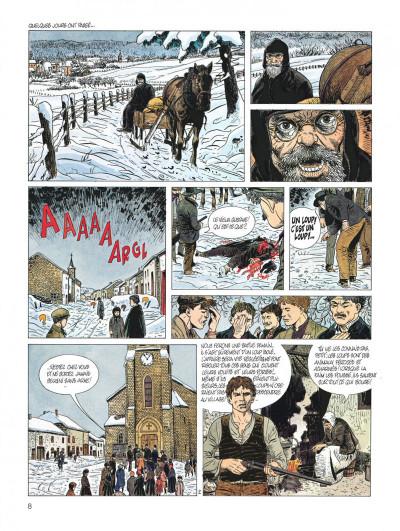 Page 8 servais - intégrale tome 6 - la tchalette