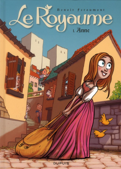 Couverture le royaume tome 1 - anne