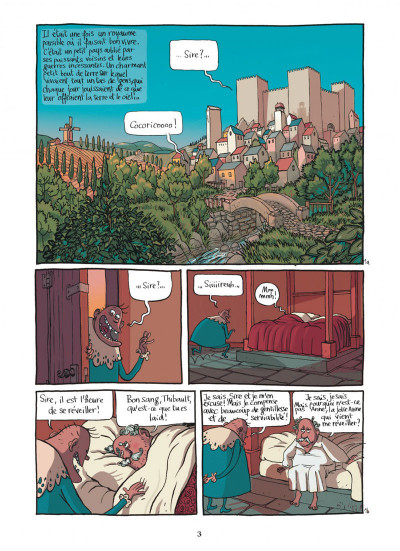Page 3 le royaume tome 1 - anne