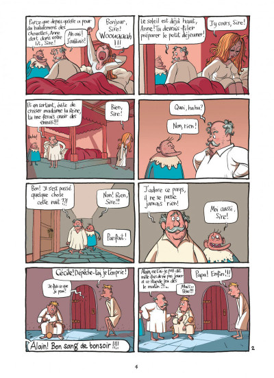 Page 4 le royaume tome 1 - anne