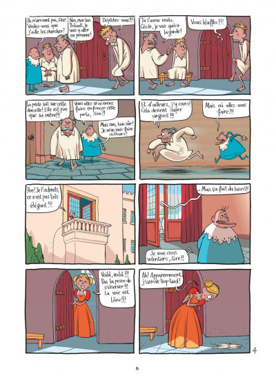 Page 6 le royaume tome 1 - anne