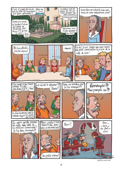 Page 8 le royaume tome 1 - anne